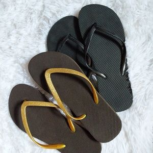 Free with Bundle - NWOT Flip Flops